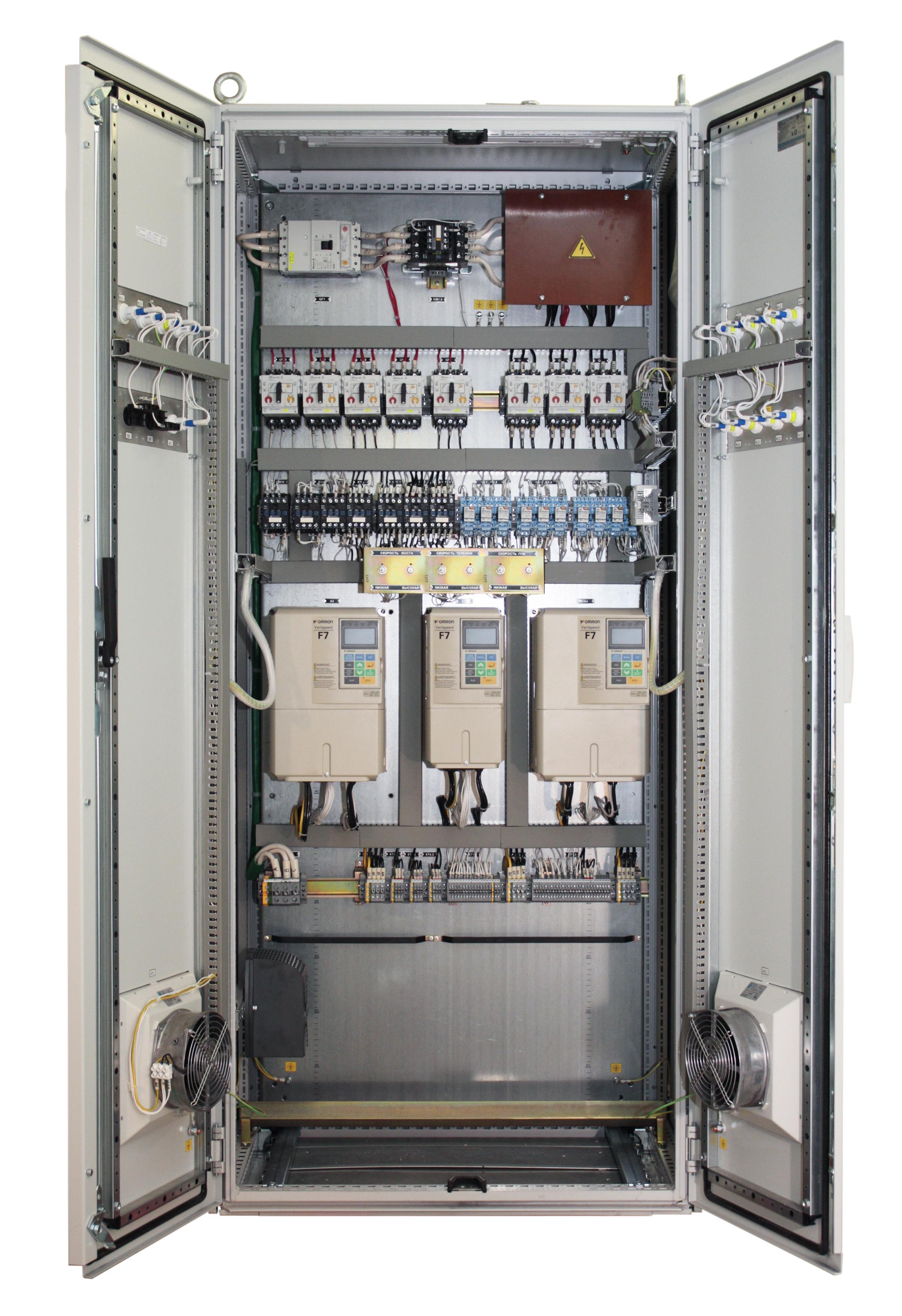 схема управления подъемом экг-10